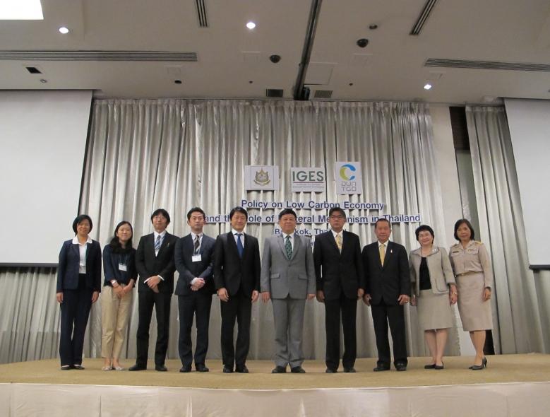 นโยบาย การพัฒนาเศรษฐกิจคาร์บอนต่ำของประเทศไทยและกลไกตลาดแบบทวิภาคี